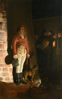 l'exécution du duc d'enghien dans les fossés de vincennes by jean paul laurens
