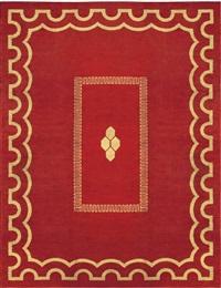 an art deco carpet by andré arbus