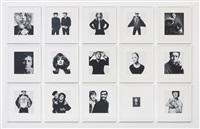 box of pin-ups (36 works) by david bailey
