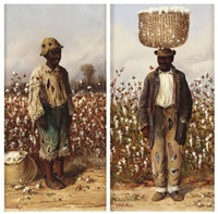 cotton pickers by william aiken walker