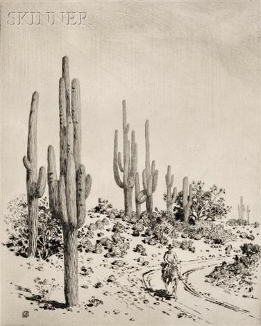 road to apache reservation arizona by george elbert burr