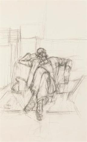 portrait de pierre loeb by alberto giacometti