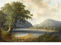 river landscape with figures by thomas doughty