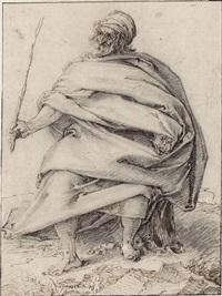 a seated judge in ancient times by jacques de gheyn ii