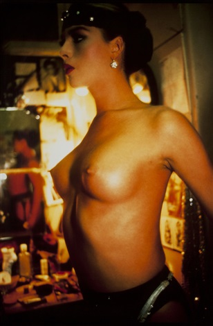kim between sets by nan goldin