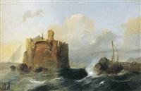 fort dans les environs d'alexandrie, egypt by jacob jacobs