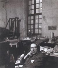 picasso dans son atelier, rue des grands augustins by peter rose pulham