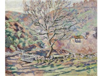 paysage de crozant, la solitude by armand guillaumin