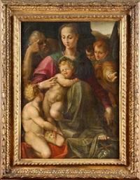 la sainte famille by agnolo bronzino