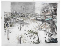 an embarkation by william kentridge