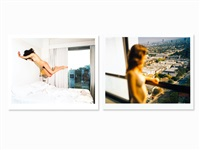 untitled #1 & #2 by malerie marder