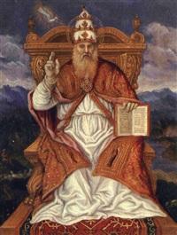 san gregorio magno by girolamo da santacroce