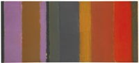 vertical bands oct : 58 - feb : 59 by patrick heron