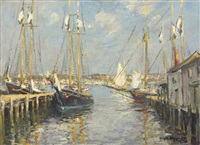 morning, gloucester by guy carleton wiggins