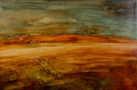 untitled landscape by ken johnson