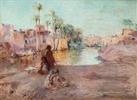 jeune garçon medineh-el- fayoum, egypte by georges gasté