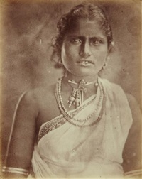 woman, ceylon by julia margaret cameron