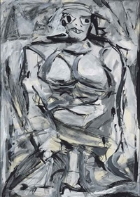 not de kooning by mike bidlo