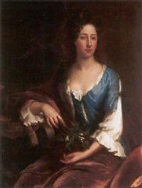 portrait of catherine, second dutchess of rutland by john van der vaart