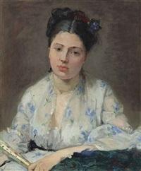 jeune femme by berthe morisot