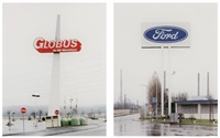 untitled, globas (+ untitled, ford; 2 works) by frank breuer