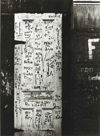 love door, new york by william klein