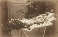 auguste rodin l'artiste sur son lit de mort by p. choumoff