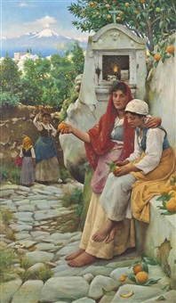 the orange sellers by horace fisher