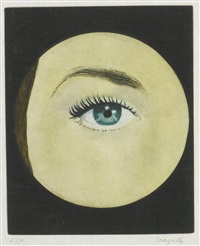 flight (ackley 13) by rené magritte