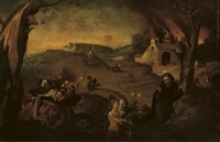 the temptation of saint anthony by jan mandijn