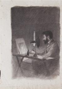 portrait d'adrien de witte by armand rassenfosse