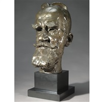 portrait of george bernard shaw by sava botzaris