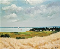 the french coast by marcel dyf