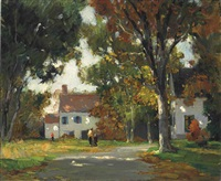 fall sunlight by anthony thieme