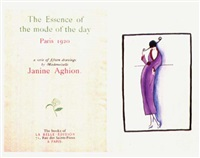 the essence of the mode of the day (bk by artist w/11 works) by janine aghion