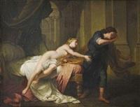 joseph sollicité par la femme de putiphar by jean baptiste nattier