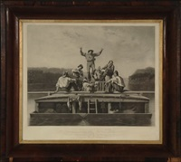 the jolly flatboat men by george caleb bingham
