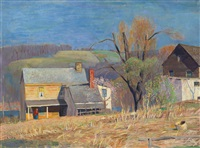 bright day, march (march morning) by daniel garber