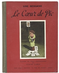 le coeur de pic - the heart of spades (bk w/20 works & text by lise deharme, folio) by claude cahun