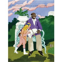 tom and eva: thank you staffordshire by robert h. colescott