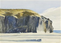 oregon coast by edward hopper