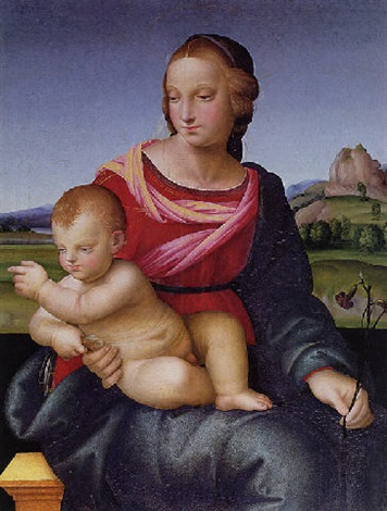 madonna and child by domenico di paride alfani