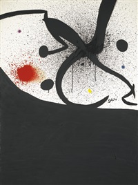 oiseau, insecte, constellation by joan miró