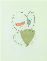 sans titre (from paramythen) by max ernst