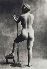 sculptors model, paris by irving penn