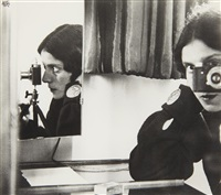 self portrait with leica, paris by ilse bing