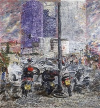 azrieli towers by hedva aharoni