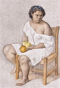muchachas con limones by francisco zúñiga