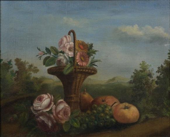 fleurs et fruits by arnoldus bloemers