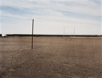 the sportsfield at hondeklipbaai by david goldblatt